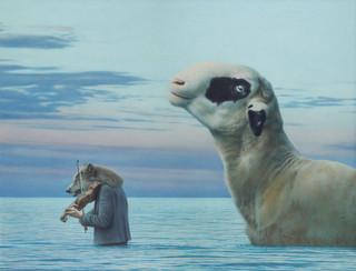 Schaf und Wolf