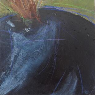 Kosmopolit (4), 15x15x9, Pigment, Acryl a. Holz, 2015.JPG