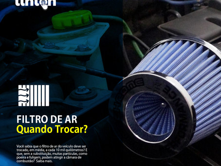 Quando trocar o filtro de ar do carro?