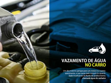 Vazamento de água no carro: como identificar e o que fazer?