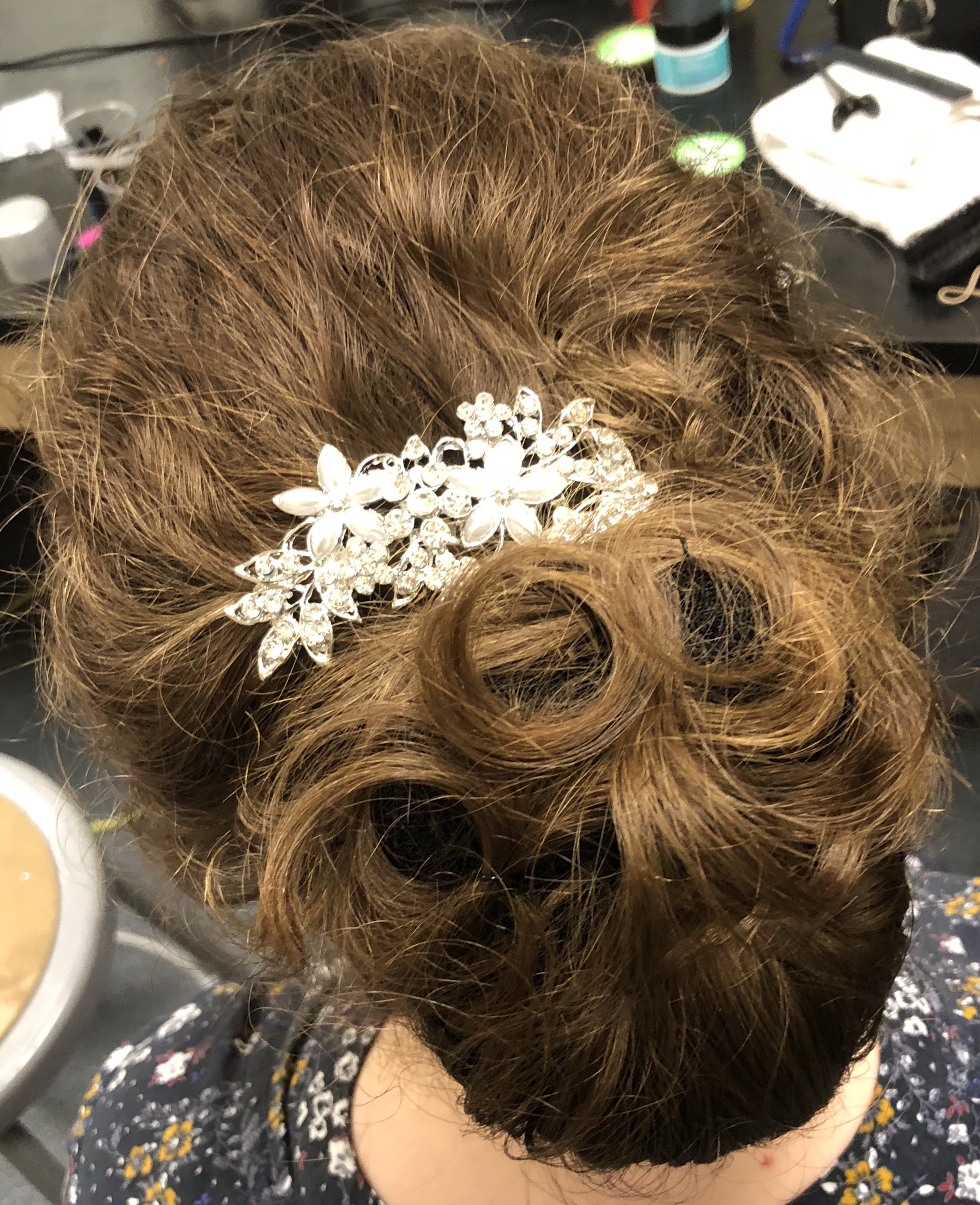 Updo's for Little Women