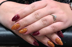 Almond Nails to die for
