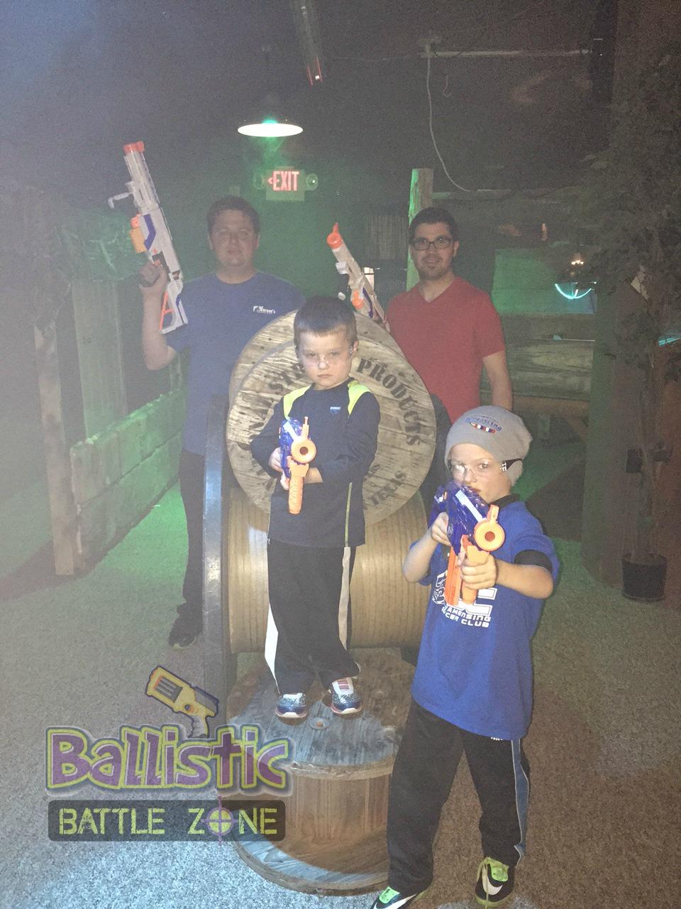 Ballistic Battle Zone Party Picture