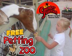 CJ promo Petting Zoo
