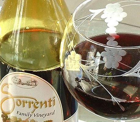 Sorrents wine and glass.JPG