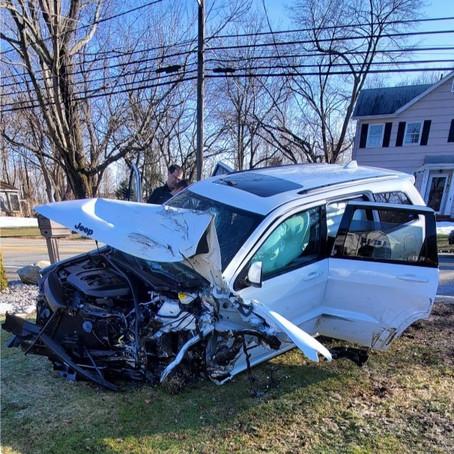 Montville Man Arrested after Single Car Crash on Horseneck Road
