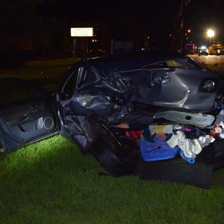 Fairfield Officers Arrest Fleeing DUI Suspect After Route 46 Crash