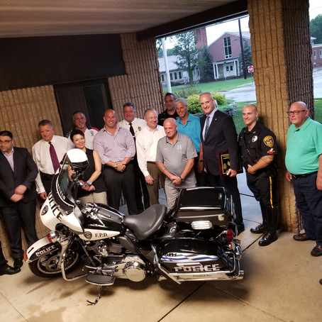 Two Firsts for Fairfield Police Department