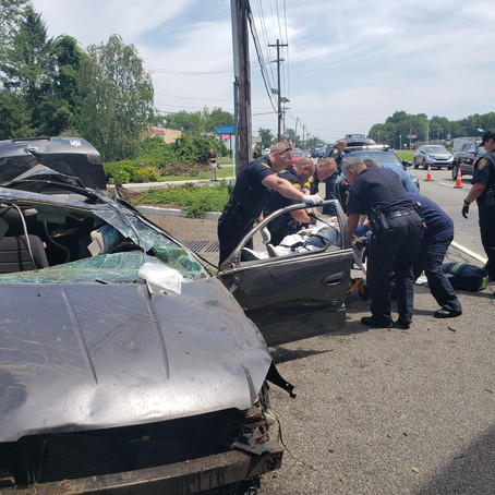 Injured Driver in Route 46 Motor Vehicle Crash Charged with DUI and Drug Offenses