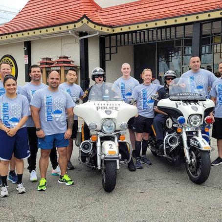 TORCH Run SUPPORTING Special OLYMPICS