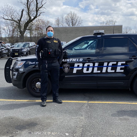 Fairfield Police Implement Temporary Uniform Change during COVID-19 Emergency