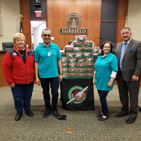 "2019 Fairfield Police ""Operation Christmas Child"" Sets New Local Record"