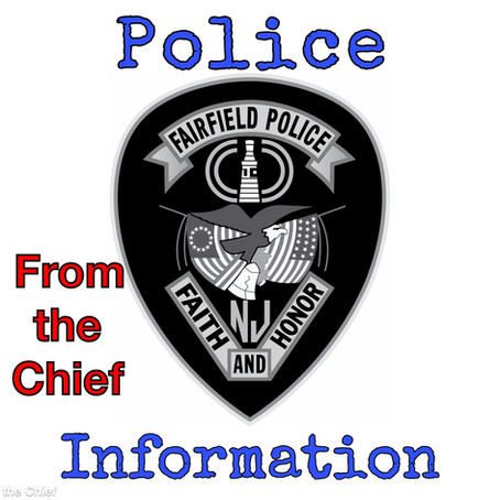 Statement from Chief Anthony Manna Regarding the Fairfield Police Department's Response to the COVID