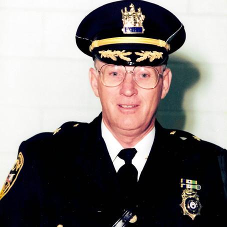 Passing of Retired Fairfield Chief of Police Willian H. Vanderhoof Jr.