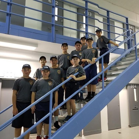 Day 3 of the Fairfield Police Department Junior Police Academy