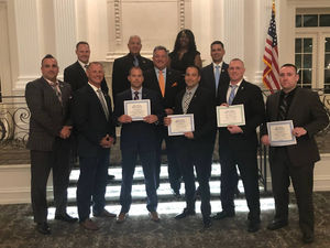 Fairfield Officers Receive Awards from County PBA Conference