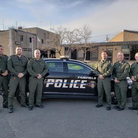 Fairfield Police Unveils Military Appreciation Uniforms for November