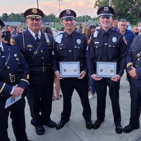 Two Fairfield Class II Special Police Officers Graduate Passaic County Police Academy