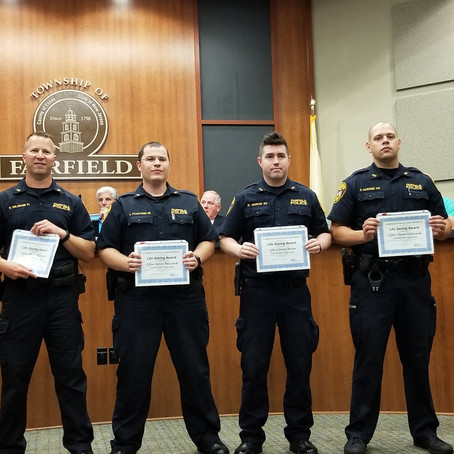 Eleven Fairfield Officers Commended for Great Work