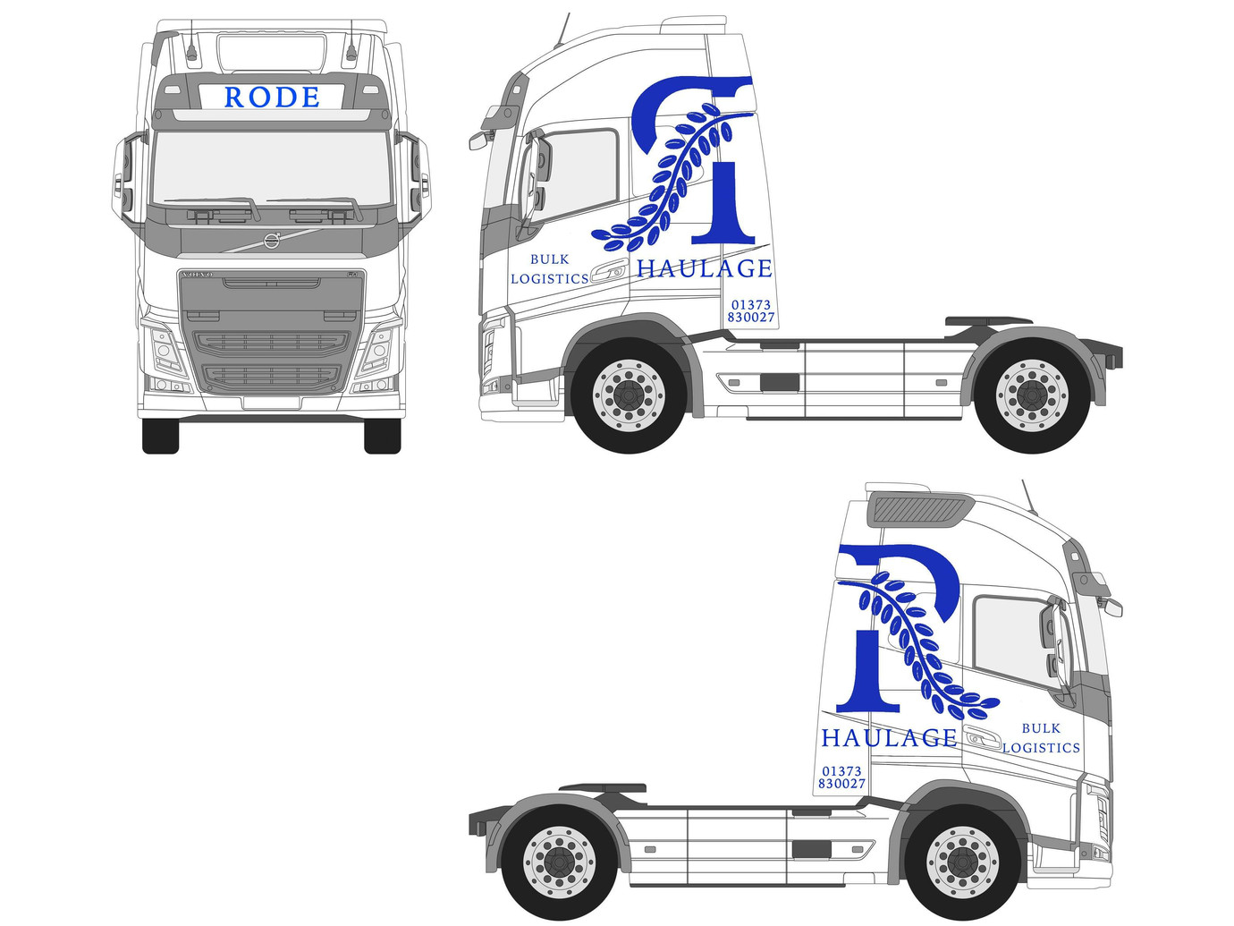 Rode Haulge Truck Concept