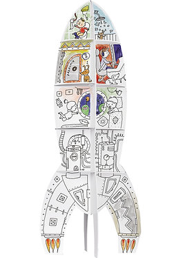 "Toy-colouring book ""Spacecraft"" XXL MONUMI"