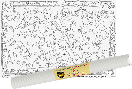 """Colouring sheet """"For the little one"""" XXL MONUMI"""