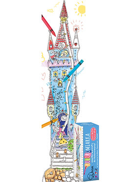 "Growth chart  ""A Princesses' Castle"" XXL MONUMI"