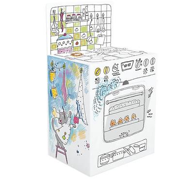 """Toy-colouring book """"Kitchen"""" XXL MONUMI"""