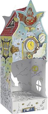 "Toy-colouring book ""Dark lane"" Monumi"