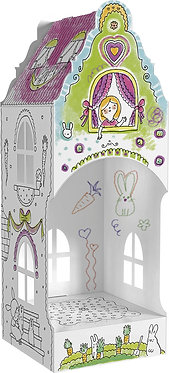 """Toy-colouring book """"Carrot House"""" Monumi"""