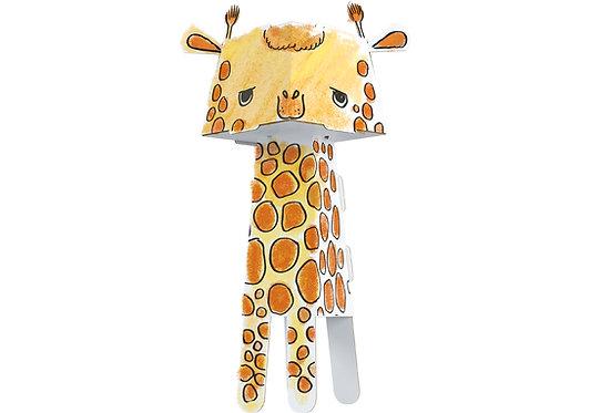 "Kolorowanka-składanka ""Żyrafa"" MONUMI CUBE HEAD"