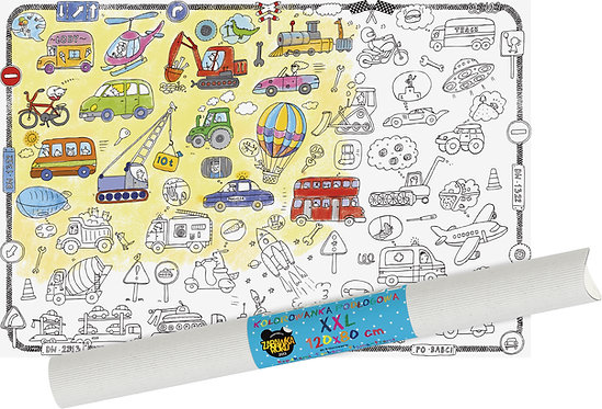 "Colouring sheet ""Vehicles XXL MONUMI"