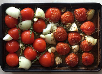 How to: quickly roast tomatoes