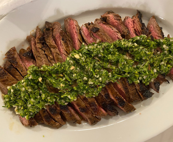 Charred Skirt Steak