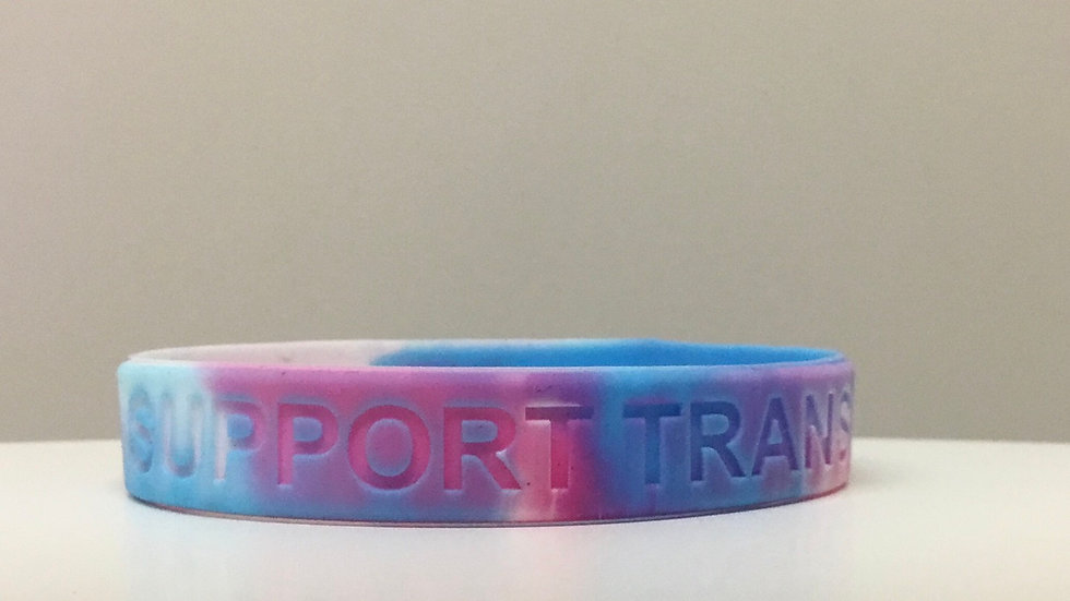 Support Trans Kids Wristband