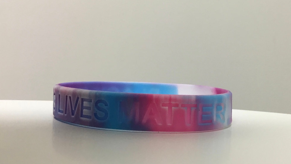Black Trans Lives Matter Wristband