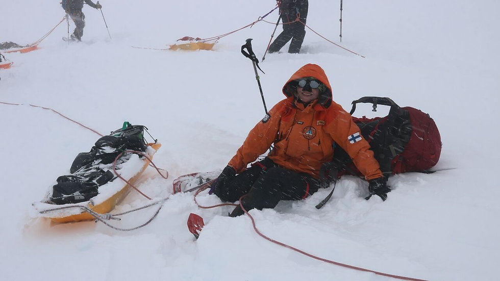 BASIC SUPPORT to get the tired skier up and going.