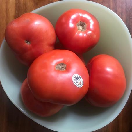Creole Tomato Sandwiches