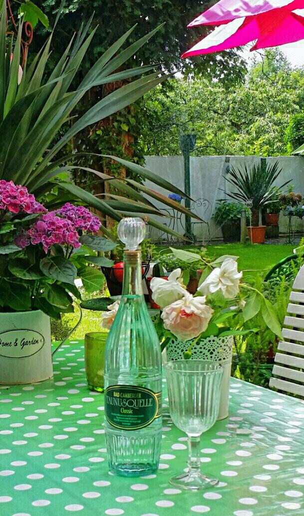 Garten-Flasche