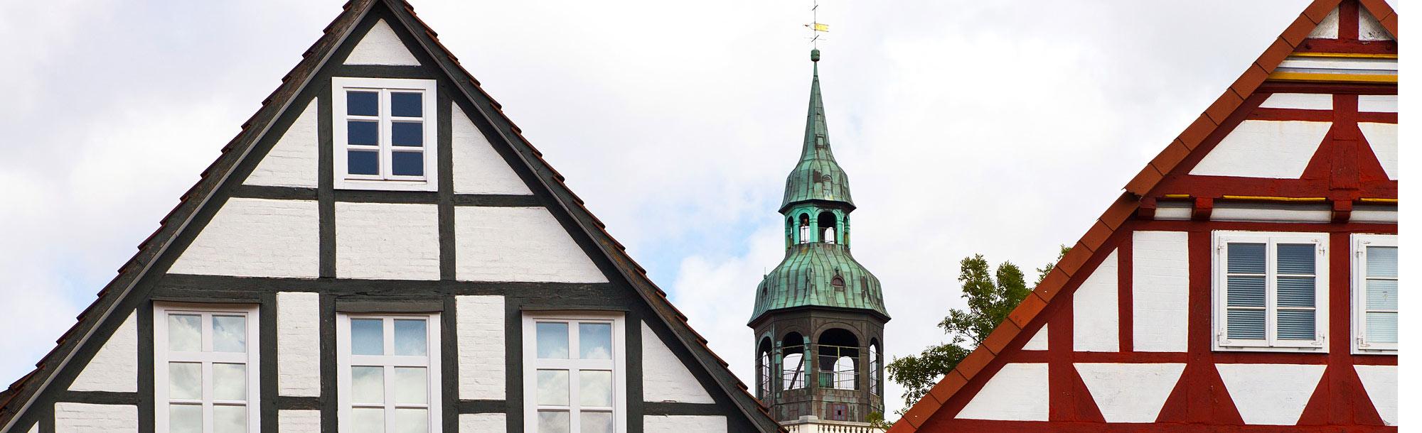 Die Altstadt und Umgebung