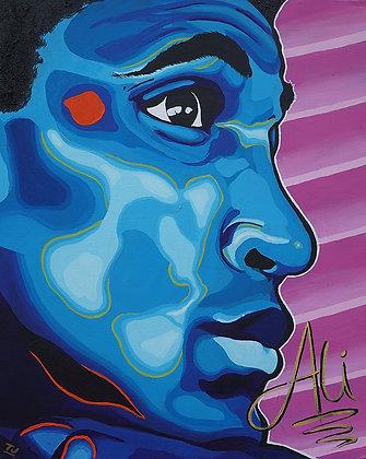 Young Muhammad Ali Print