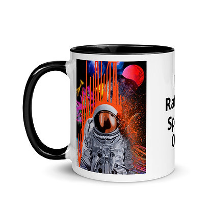 Space Out Mug with Color Inside