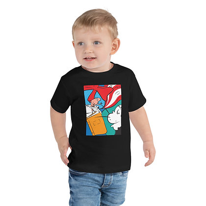 Cat in the Hat Toddler Short Sleeve Tee