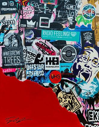 Wynwood Walls Sticker Wall