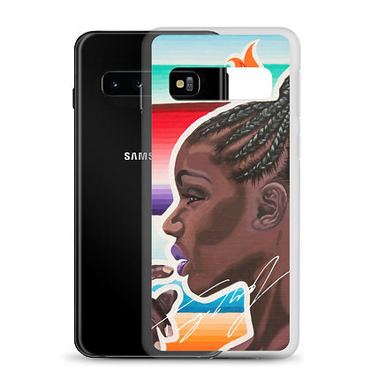 Pretty Brown Samsung Case