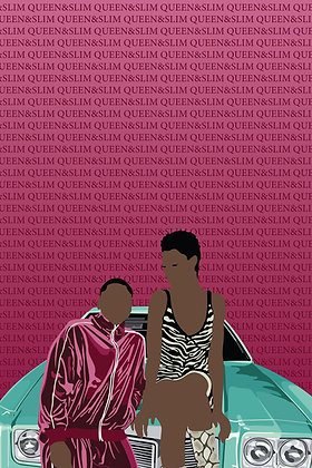 Queen and Slim 24x36 Oversize Canvas
