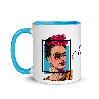 Frida Mug with Color Inside