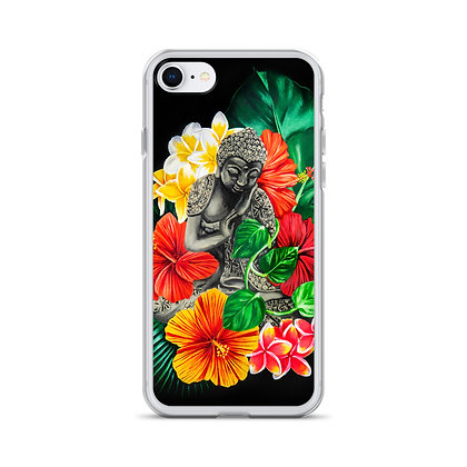 Buddha & Plants iPhone Case