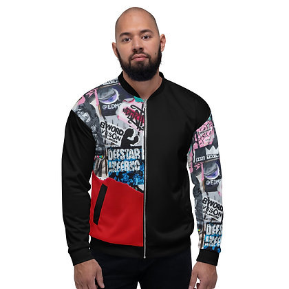 Sticker Wall Unisex Bomber Jacket