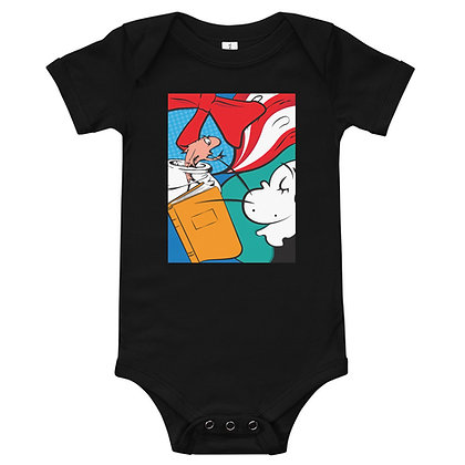 Cat in the Hat Baby Onesie